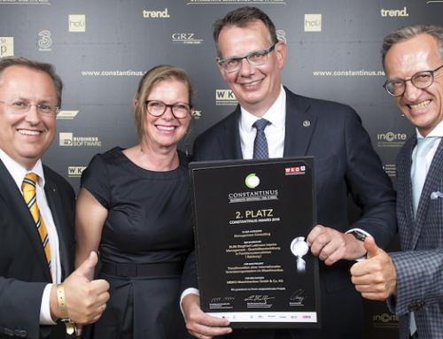 Siegfried Lettmann gewinnt Constantinus-Award