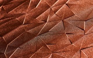 Flächige Laser-Sublimation ab sublidot Datenbank. Auf MDF, Oberfläche allseitig in Kupferoptik deckend farblackiert und matt ablackiert. Design: Lianel Spengler 2016