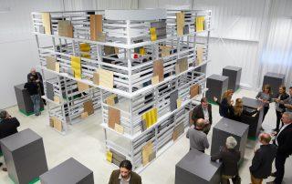 """Materialkompetenz zum Anfassen: Der strasserthun-Showroom """"punkt6"""""""